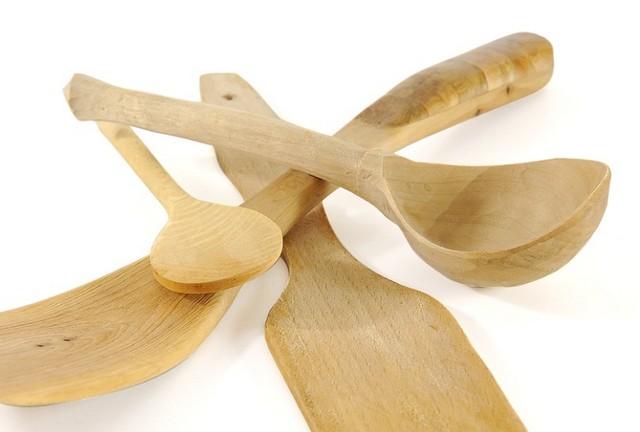 木製のお玉